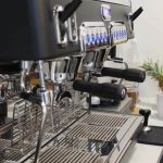 Picture of our coffee machine