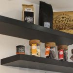 An image of our coffee rack at our juice and coffee bar with a wide selection of award winning coffee